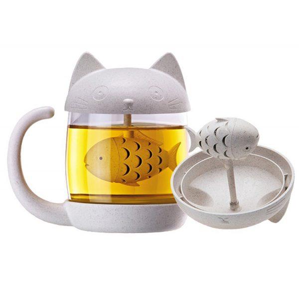 Luhovač čaje s kočkou 1 - pro milovníky koček