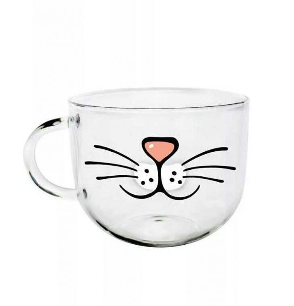 Hrníček - fousky a nos 2 - pro milovníky koček