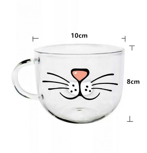Hrníček - fousky a nos 3 - pro milovníky koček