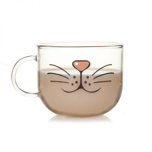 Hrníček - fousky a nos 1 - pro milovníky koček