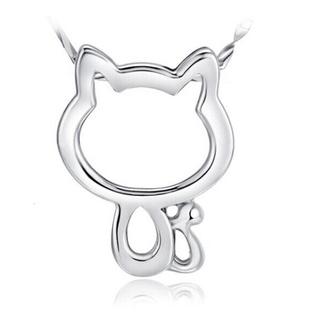 Malý náhrdelník - kočka s ocáskem 1 - pro milovníky koček