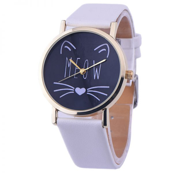 Kočičí hodinky - meow 1 - pro milovníky koček