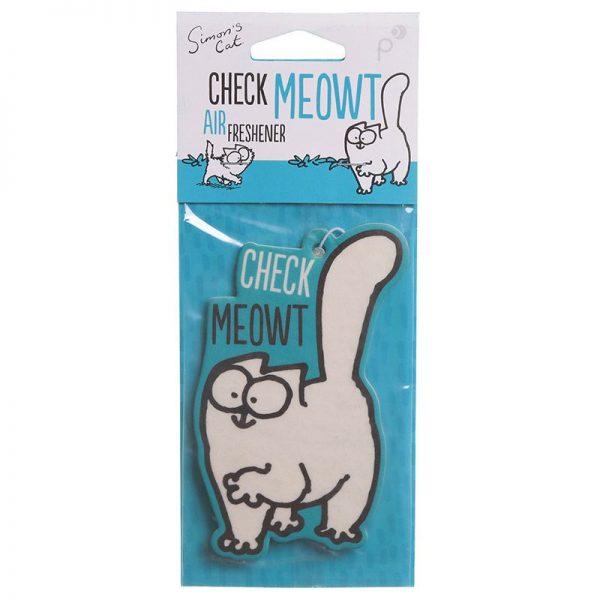 Osvěžovač vzduchu Simon's Cat - Vanilka 4 - pro milovníky koček