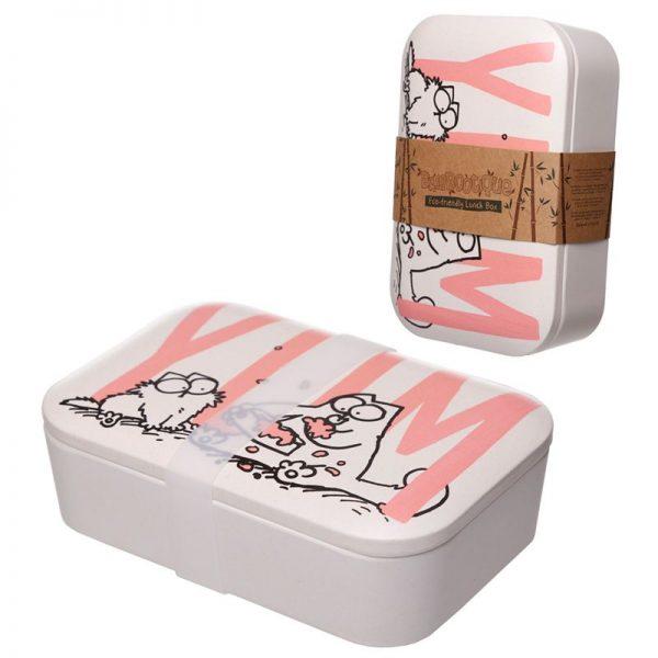 Krabička na jídlo z bambusového kompozitu Simon's Cat, na více použití 3 - pro milovníky koček