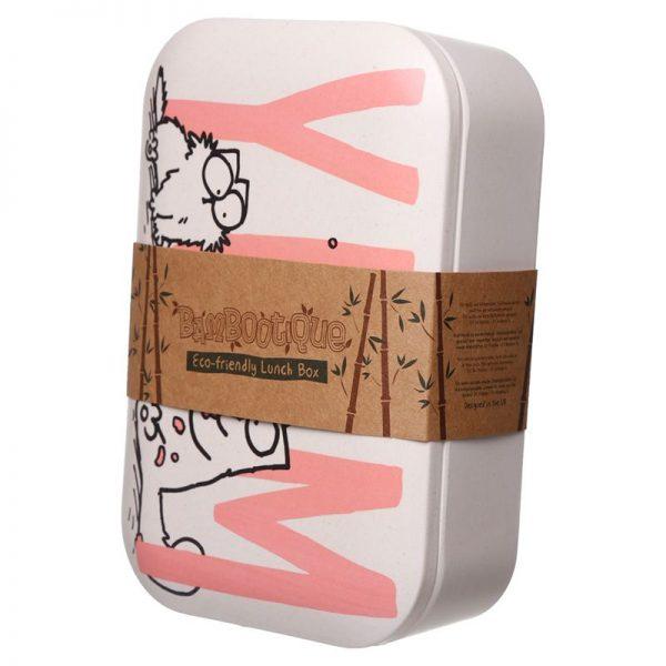 Krabička na jídlo z bambusového kompozitu Simon's Cat, na více použití 1 - pro milovníky koček