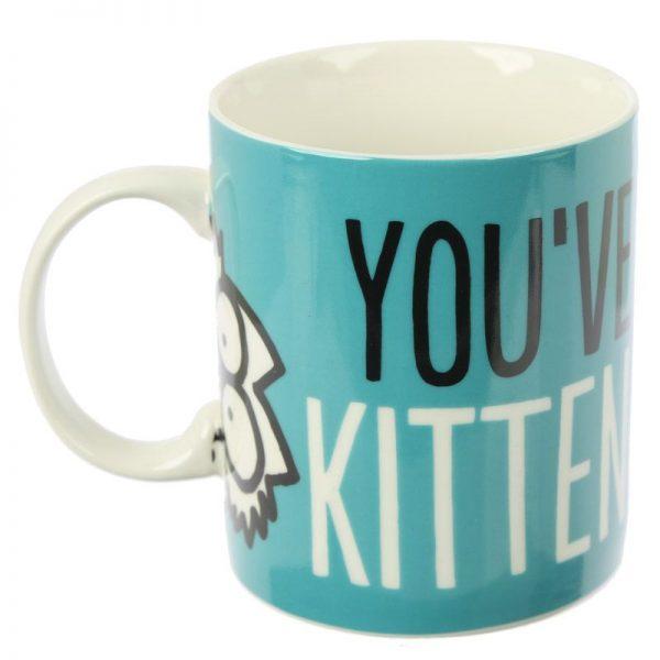 Porcelánový hrnek Simon's Cat, Kitten Slogan 4 - pro milovníky koček