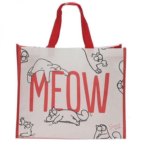 Simon's Cat - nákupní taška meow 1 - pro milovníky koček