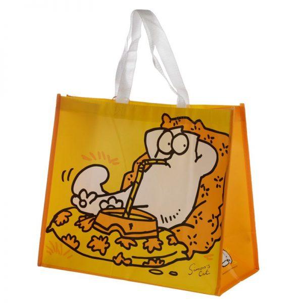 Simon's Cat - žlutá nákupní taška 1 - pro milovníky koček