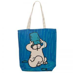 Dárkové předměty s kočkama - Látková taška se zipem Simon's Cat