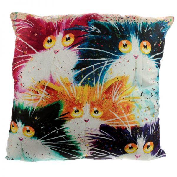 Dárkové předměty s kočkama - Polštář Kočky