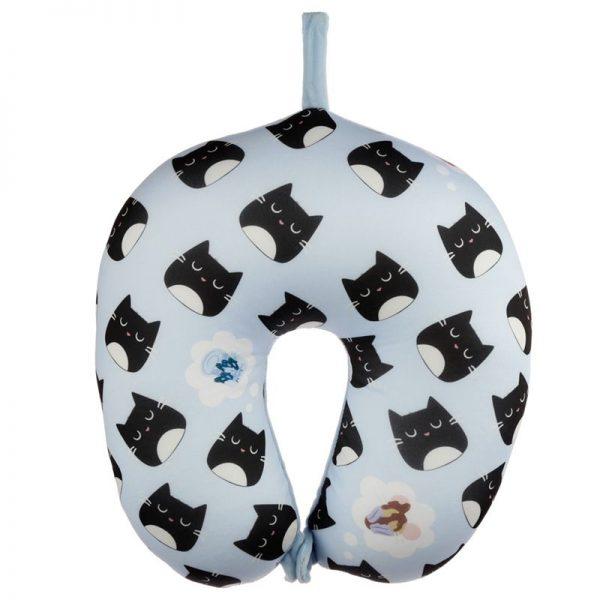 Cestovní polštářek & maska na oči Feline Fine Kočka 2 - pro milovníky koček