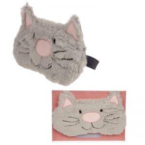Dárkové předměty s kočkama - Maska na oči Kočičí princezna