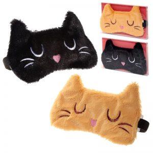 Dárkové předměty s kočkama - Maska na oči Feline Fine Kočka