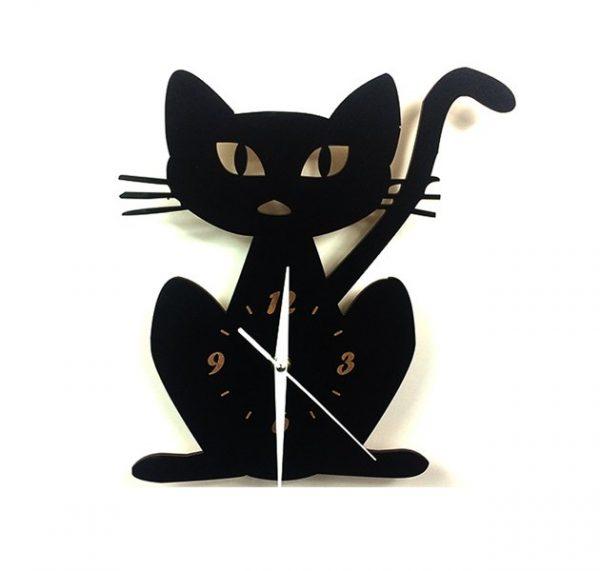 Kočičí hodiny nástěnné - kočka 1 - pro milovníky koček