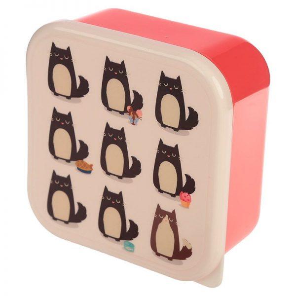 Sada 3 krabiček na jídlo Feline Fine Kočka 2 - pro milovníky koček