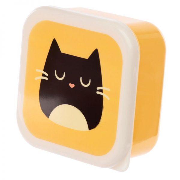 Sada 3 krabiček na jídlo M/L/XL - Feline Fine Kočka 4 - pro milovníky koček