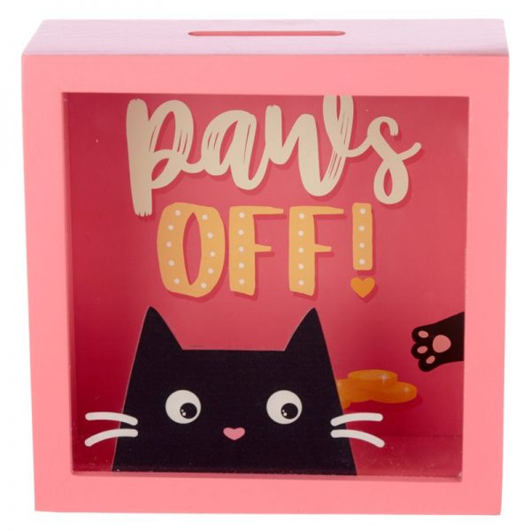 Pokladnička Feline Fine Kočka - Paws Off 1 - pro milovníky koček