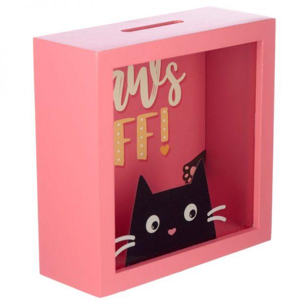 Pokladnička Feline Fine Kočka - Paws Off 2 - pro milovníky koček