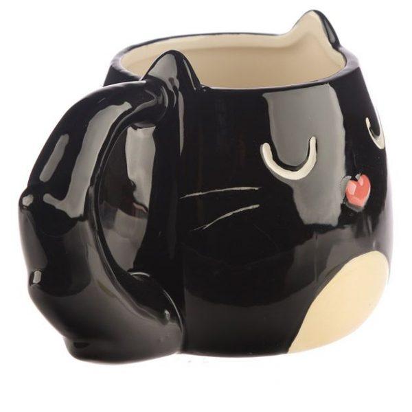 Hrnek ve tvaru černé kočky Feline Fine 4 - pro milovníky koček