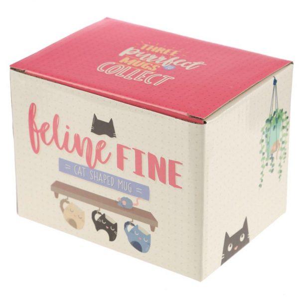 Hrnek ve tvaru černé kočky Feline Fine 5 - pro milovníky koček