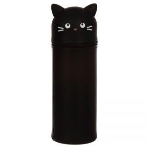 Dárkové předměty s kočkama - Silikonové pouzdro na tužky Feline Fine Kočka