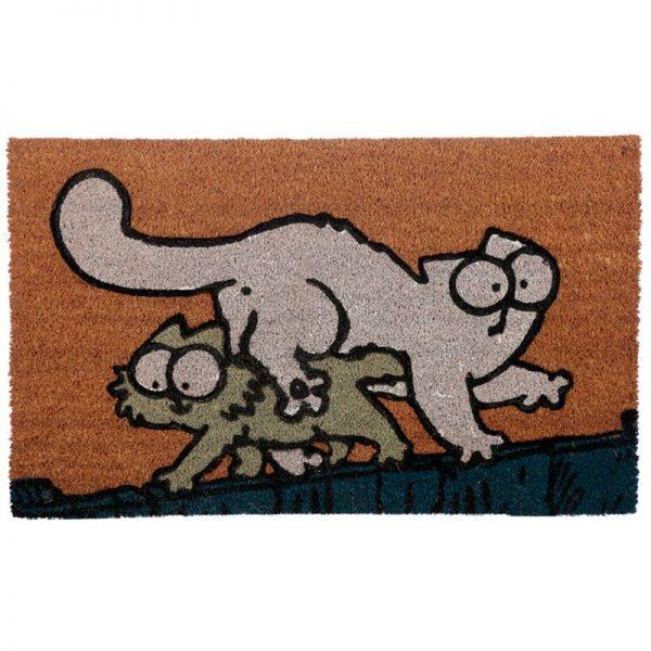 Rohožka z kokosového vlákna s kočičím motivem - Simon's Cat 1 - pro milovníky koček