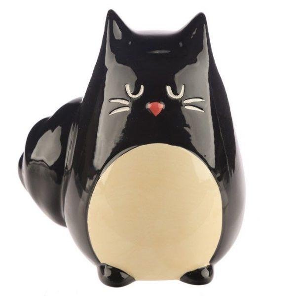 Pokladnička - Černá kočka Feline Fine 6 - pro milovníky koček
