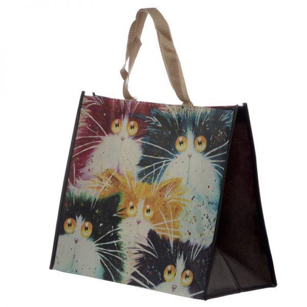 Taška s kočičím motivem - kočky, Kim Haskins 1 - pro milovníky koček