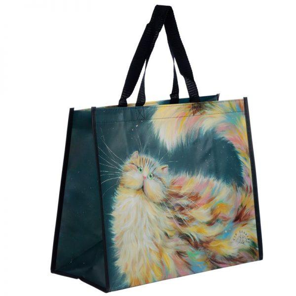 Taška s kočičím motivem - duhová kočka, Kim Haskins 1 - pro milovníky koček