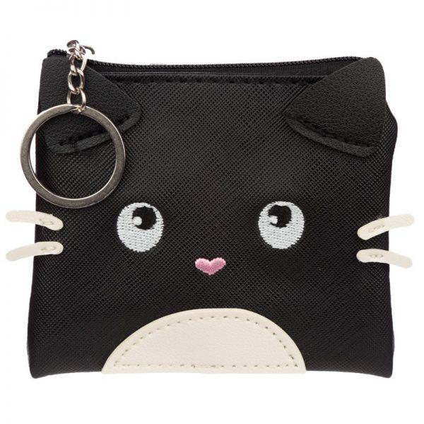 Malá peňaženka na drobné s kočkou - Feline Fine 1 - pro milovníky koček