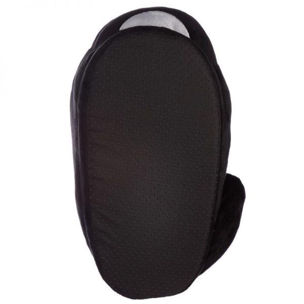 Černé kočičí pantofle Feline Fine - univerzální velikost 6 - pro milovníky koček