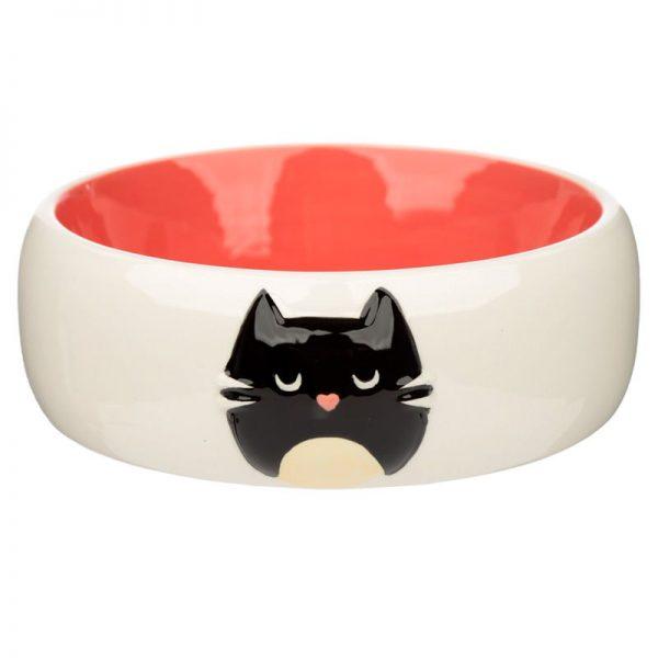 Keramická miska pro kočky na jídlo Feline Fine