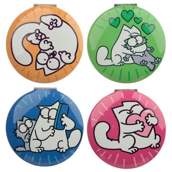 Kompaktní zrcátko s motivem Simon's Cat