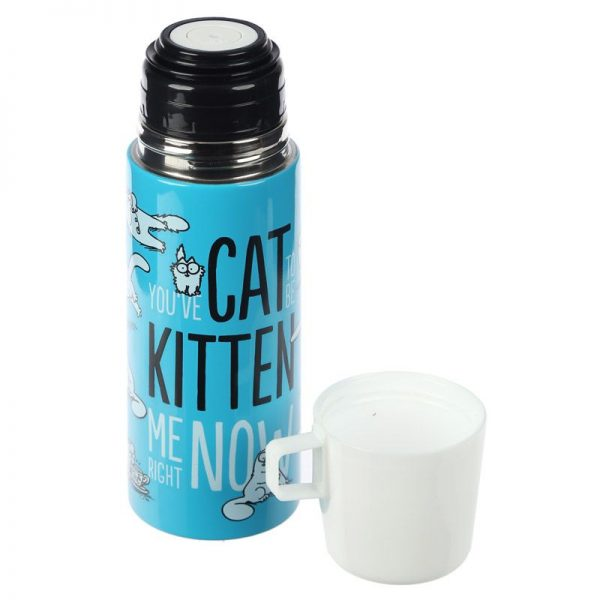 Láhev z nerezové oceli Simon's Cat 350 ml 5 - pro milovníky koček