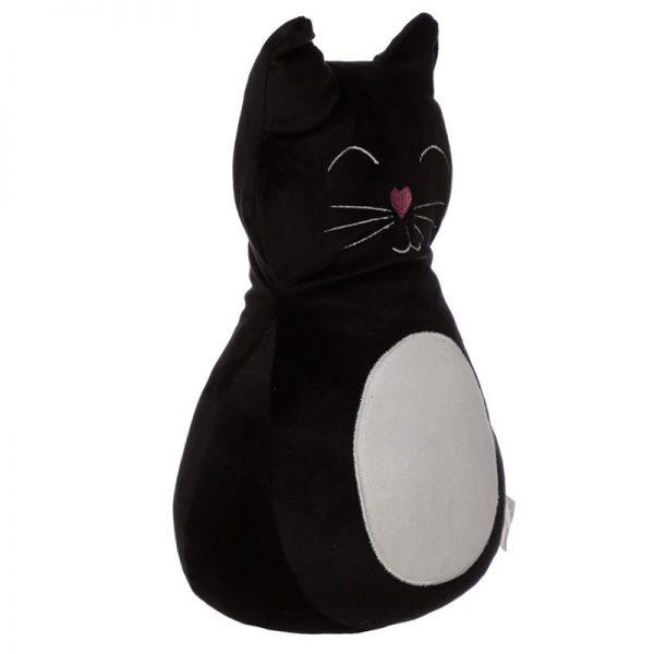 Zarážka do dveří Černá kočka 3 - pro milovníky koček
