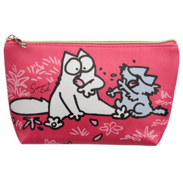 Simon's Cat Střední toaletní toaletní kosmetická taška 1 - pro milovníky koček