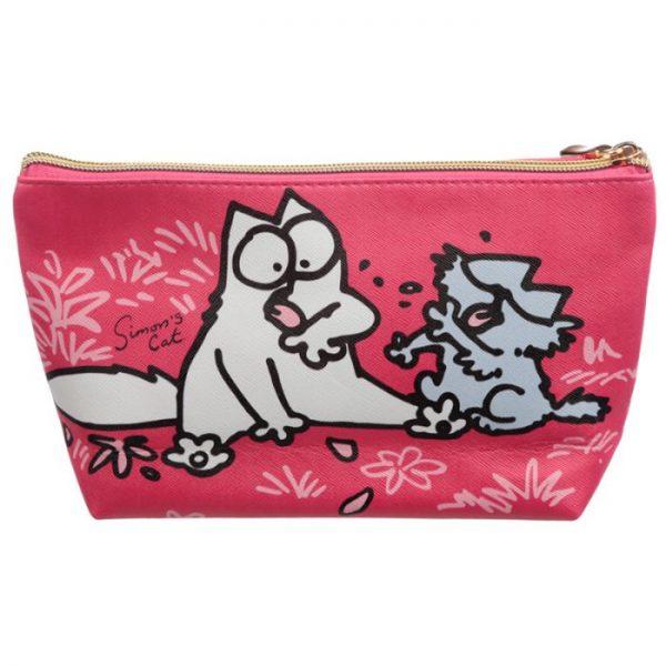 Simon's Cat Střední toaletní toaletní kosmetická taška 2 - pro milovníky koček