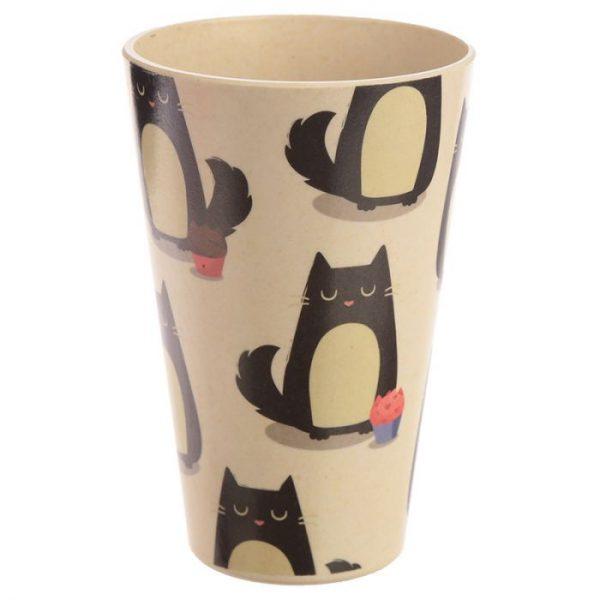 Kočka Feline Fine Cestovní termohrnek z bambusového kompozitu 6 - pro milovníky koček