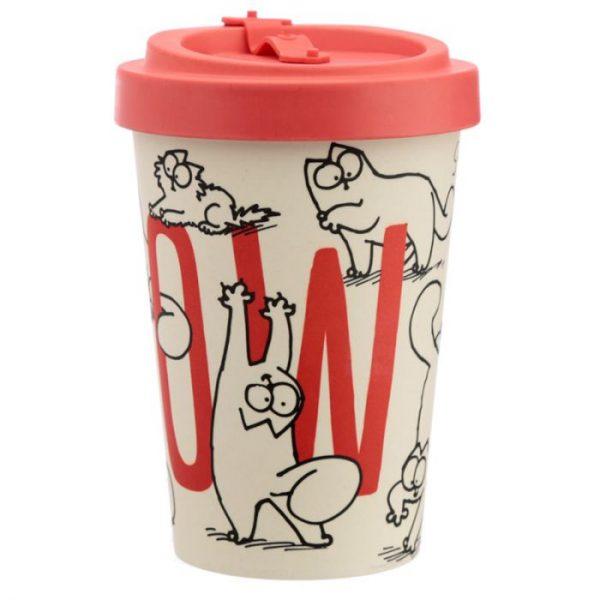 Simon's Cat Cestovní termohrnek z bambusového kompozitu 4 - pro milovníky koček