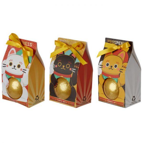 Maneki Neko - kočka štěstí bomba do vody v dárkovém balení 1 - pro milovníky koček