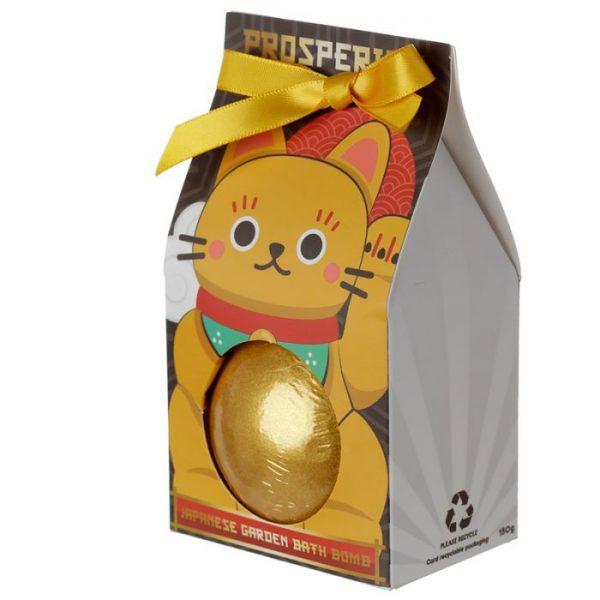 Maneki Neko - kočka štěstí bomba do vody v dárkovém balení 6 - pro milovníky koček