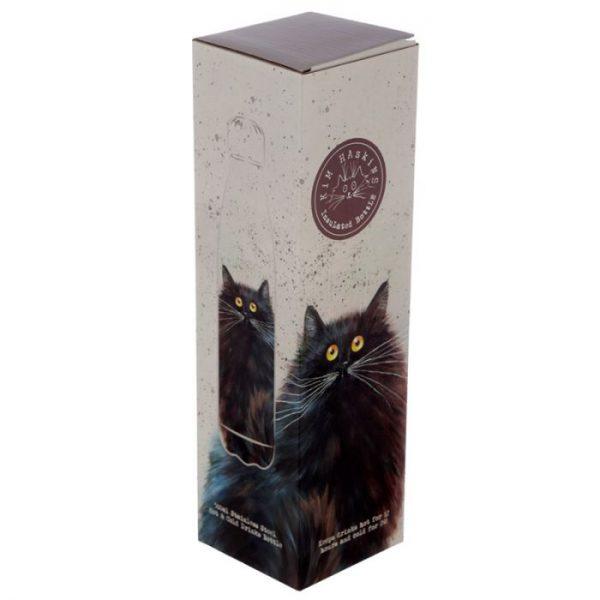 Kim Haskins Černá Kočka láhev z nerezové oceli na tepelnou izolaci nápojů 500ml 2 - pro milovníky koček