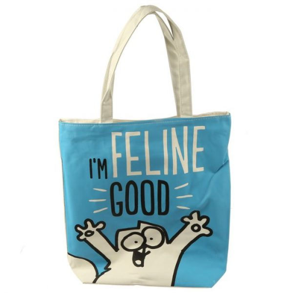 I'm Feline Good Simon's Cat Znovupoužitelná bavlněná taška 1 - pro milovníky koček