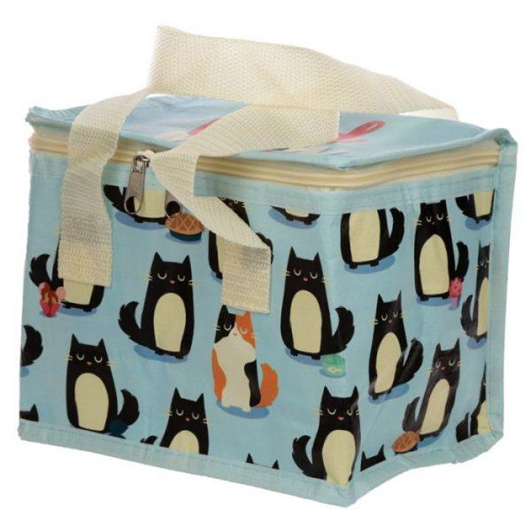 Izolační taška na svačinu - Kočka Feline Fine 1 - pro milovníky koček