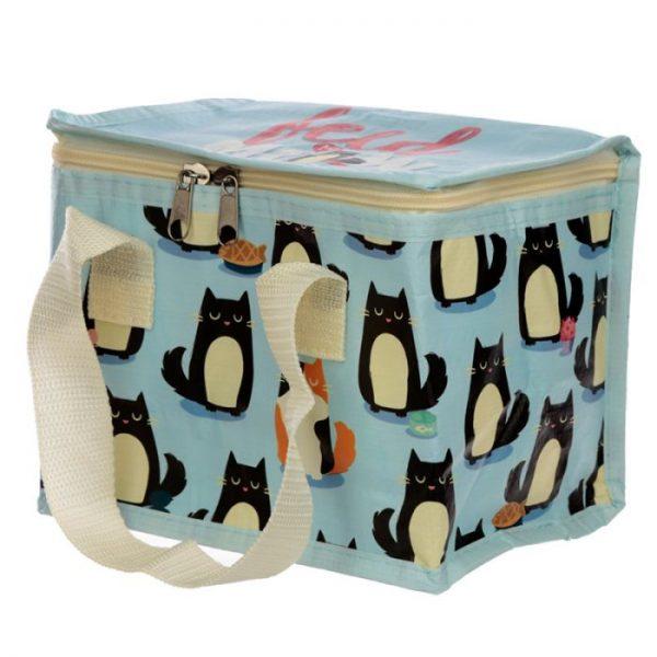 Izolační taška na svačinu - Kočka Feline Fine 8 - pro milovníky koček
