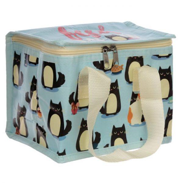 Izolační taška na svačinu - Kočka Feline Fine 5 - pro milovníky koček