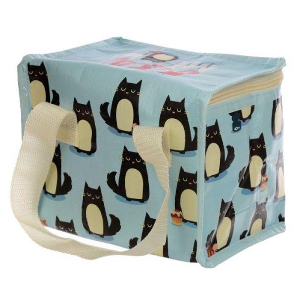 Izolační taška na svačinu - Kočka Feline Fine 7 - pro milovníky koček