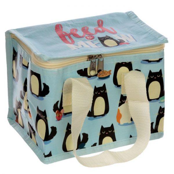 Izolační taška na svačinu - Kočka Feline Fine 4 - pro milovníky koček