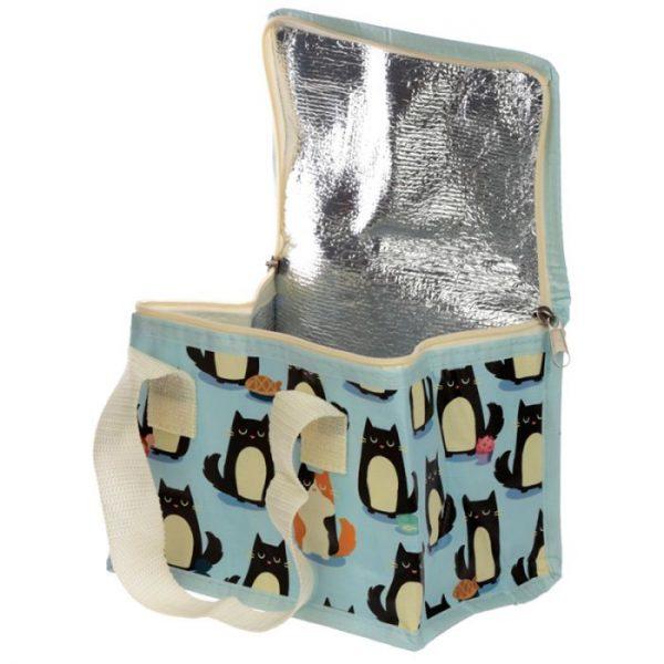 Izolační taška na svačinu - Kočka Feline Fine 2 - pro milovníky koček