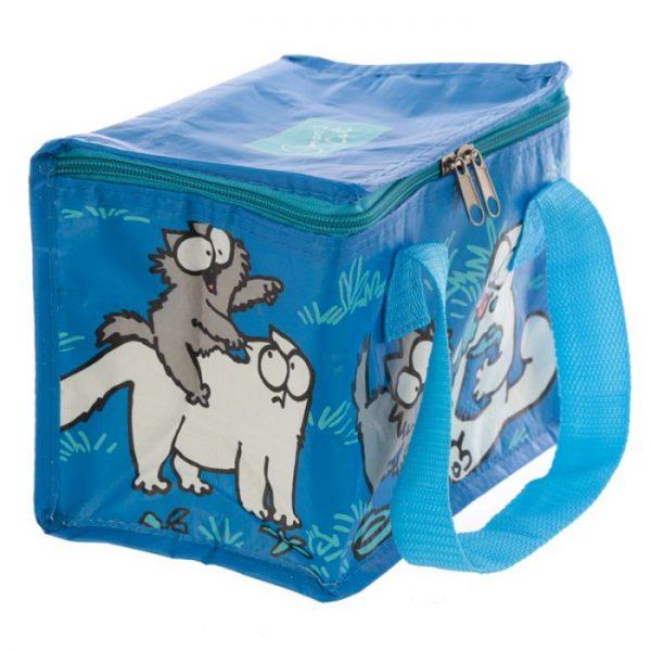 Chladící taška na svačinu s motivem kočičky a koťata Simon's Cat modrá 5 - pro milovníky koček